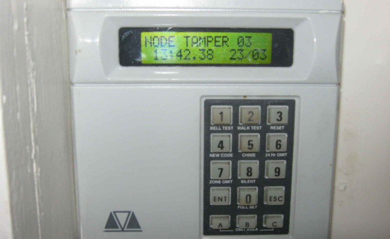 Alarm keypad replacment