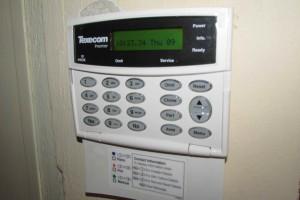 alarm beeping